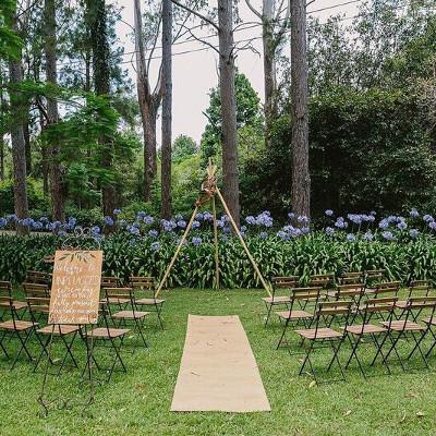 Bamboo Tipi Arbour